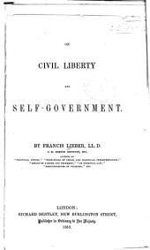 On Civil Liberty and Self-government