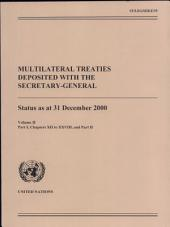 Multilateral Treaties Deposited with the Secretary-General: Pages 1-2
