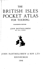 The British Isles Pocket Atlas for Touring