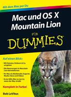 Mac und OS X Mountain Lion f  r Dummies PDF
