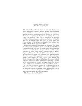Vendor Of Sweeets  The  modern Classics  PDF