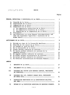 Informe Anual De La Comision Interamericana De Derechos Humanos A La Asamblea General