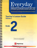 Everyday Mathematics Teacher Lession Guide Volume 1 Grade 2 PDF