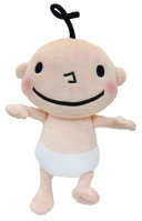 Huggy Kissy Baby Doll  10 Inch Book