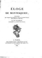 Éloge de Montesquieu