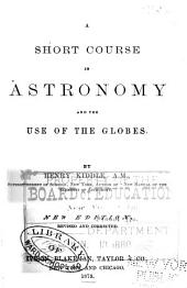A Short Course in Astronomy and the Use of the Globes