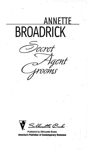 Secret Agent Grooms PDF