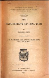 The Explosibility of Coal Dust