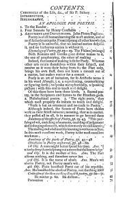 An Apologie for Poetrie, 1595: Volume 2