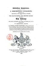 Bibliotheca Sussexiana  A Descriptive Catalogue  Accompanied by Historical and Biographical Notices  of the Manuscripts and Printed Books Contained in the Library of His Royal Highness the Duke of Sussex  K G      by Thomas Joseph Pettigrew  Vol  1  2  PDF