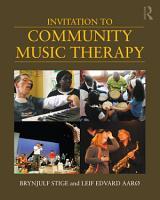Invitation to Community Music Therapy PDF