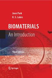 Biomaterials: An Introduction, Edition 3