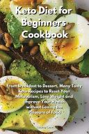 Keto Diet for Beginners Cookbook PDF