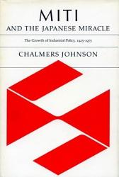Miti And The Japanese Miracle Book PDF