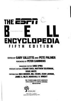 The     ESPN Baseball Encyclopedia PDF