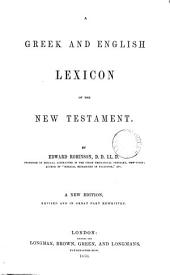 A Greek and English Lexicon of the New Testament
