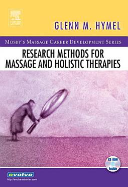 Research Methods for Massage and Holistic Therapies   E Book PDF