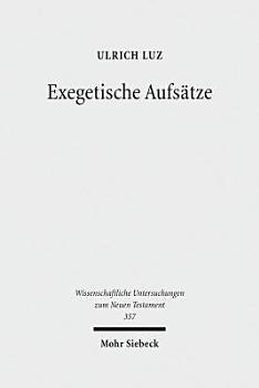Exegetische Aufs  tze PDF