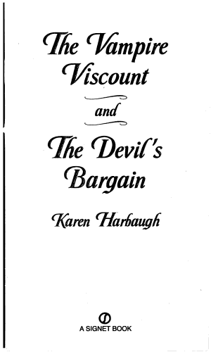 The Vampire Viscount and the Devil's Bargain