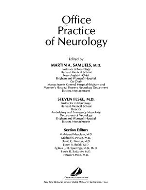 Office Practice of Neurology