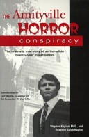 The Amityville Horror Conspiracy PDF