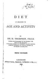Diet in Relation to Age and Activity