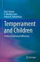 Temperament and Children PDF