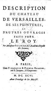Description du château de Versailles