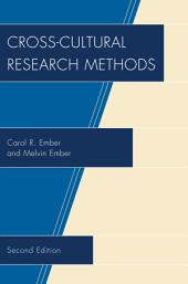 Cross-Cultural Research Methods: Edition 2