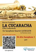 La Cucaracha -Saxophone Quartet set of PARTS