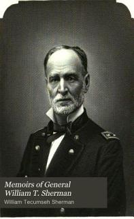 Memoirs of General William T  Sherman Book