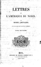 Lettres Sur L'Ameŕique Du Nord: Volume 2