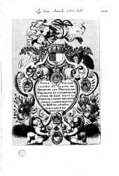 Noms Surnoms calitez et blason de Messieurs les Prevots des Marchands et eschevins de la Ville de Lyon dont la Noblesse a estée reconnue suivant la declaration du Roy ez années M.D.C.LXVII et M.D.C.LXVIIIe [Ep. déd. au Consulat et préf. par Claudine Brunand, sonnet [par A. I.]]
