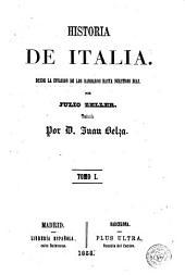 Historia de Italia, 1: desde la invasión de los bárbaros hasta nuestros días