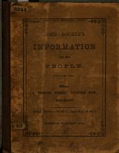 John Bourne's Information for the People. [On selling a business.]
