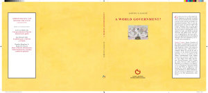 A World Government  PDF