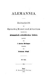Alemannia: Bände 21-22