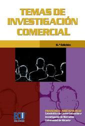 Temas de investigación comercial (6ª edición)