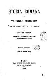 Storia romana di Teodoro Mommsen: Fino alla morte di Silla, Volume 2