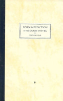 Form and Function in the Diary Novel PDF