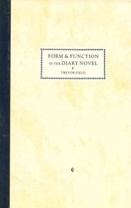 Form and Function in the Diary Novel Book