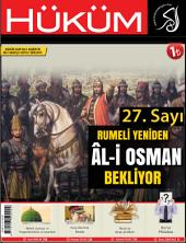 Rumeli Yeniden Âl-i Osman Bekliyor: 27. Sayı | Mart 2015 | Yıl: 3