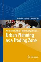 Urban Planning as a Trading Zone PDF