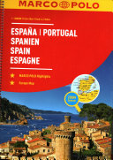 MARCO POLO Reiseatlas Spanien, Portugal 1:300 000