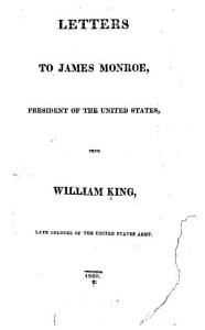 Letters to James Monroe PDF