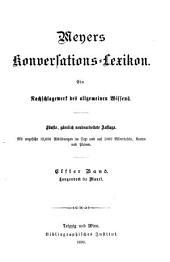 Meyers Konversations-Lexikon: Band 11