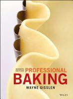 Professional Baking  7th Edition PDF