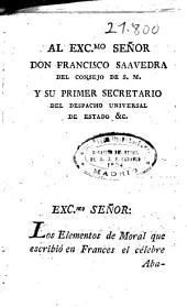 Elementos de moral escritos en frances