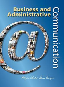 Business and Administrative Communication Book