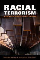 Racial Terrorism PDF